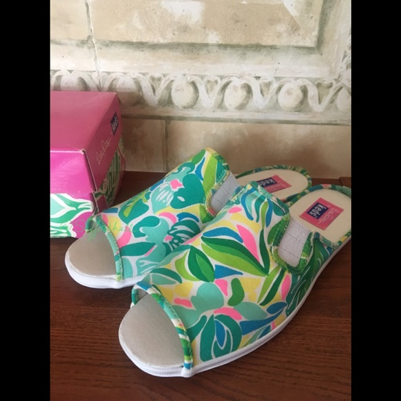 ceeefea25894c3 Lilly Pulitzer Shoes   Nwt Mules Keds Sneakers   Poshmark